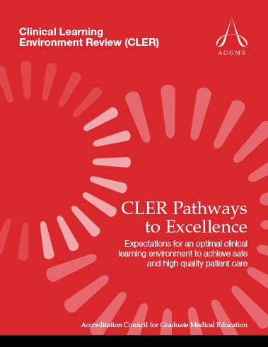 CLER Pathways to Excellence