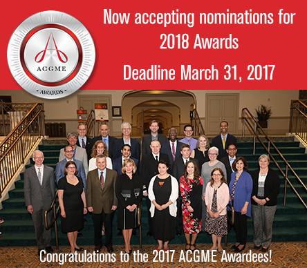ACGME Awards