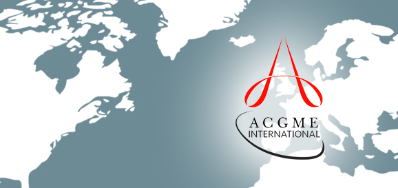 visit the acgme international website
